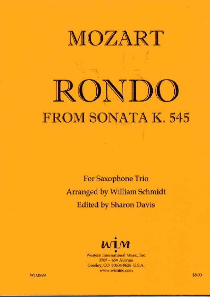 SAB サキソフォン三重奏のためのソナタ  ドメニコ・スカルラッティ作曲