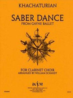 画像1: クラリネットクワイアのための剣の舞 アラム ハチャトゥリャン作曲