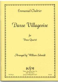 画像1: 金管四重奏のための村の踊り   エマニュエル ジャブリエ作曲