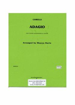 画像1: テナーサキソフォンとピアノのためのアダージョ アルカンジェロ・コレッリ作曲