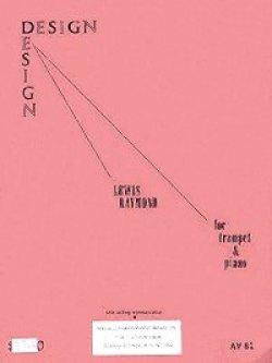 画像1: トランペットとピアノのためのデザイン ルイス レイモンド作曲