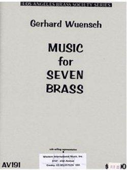 画像1: 金管七重奏のための音楽  ガハード ウェンシュ作曲
