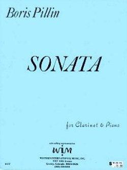 画像1: クラリネットとピアノのためのソナタ  ボリス ピリン作曲
