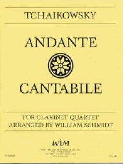 画像1: クラリネット四重奏のためのアンダンテ カンタービレ  ピョートル チャイコフスキー作曲