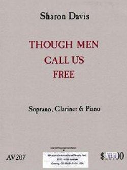 画像1: ソプラノ(歌)、Bbクラリネットとピアノのための「人からは自由だと呼ばれるけど」 シャロン ディビス作曲