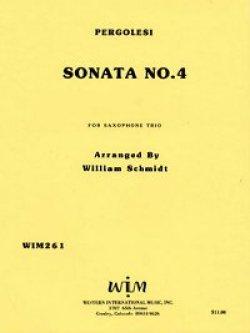 画像1: ATB サキソフォン三重奏のためのソナタ第四番  ジョバンニ ペルゴレージ作曲