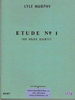 画像1: 金管四重奏のための練習曲第一番  ライル マーフィー作曲