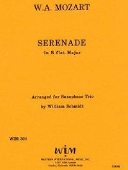 画像1: SAT サキソフォン三重奏のためのセレナーデ  ヴォルフガング アマデウス モーツァルト作曲