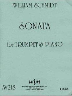 画像1: トランペットとピアノのためのソナタ ウィリアム シュミット作曲