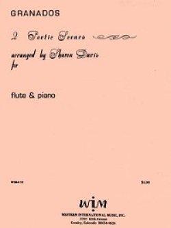 画像1: フルートとピアノのための二つの詩的情景  エンリケ グラナドス作曲