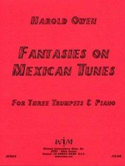 画像1: トランペット三重奏とピアノのためのファンタジー「メキシコの曲」 ハロルド オーウェン作曲